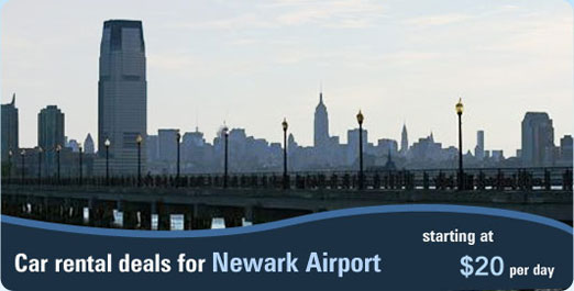 Car rental deals for Newark Airport